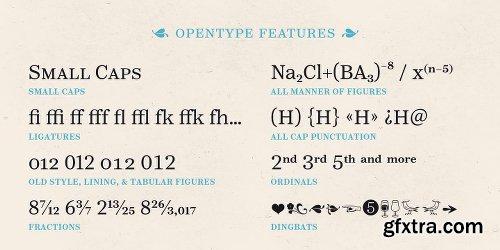 Reserve Font Family - 25 Fonts