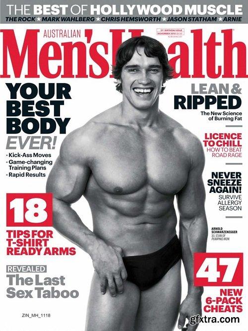 Men\'s Health Australia - November 2018