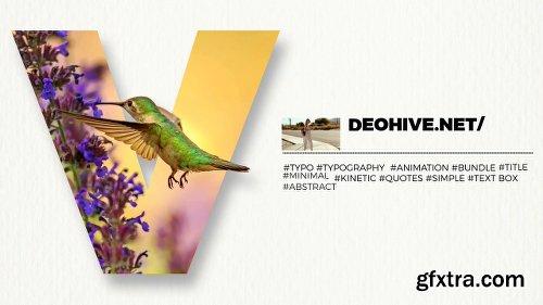 Videohive Modern Typography 21862938