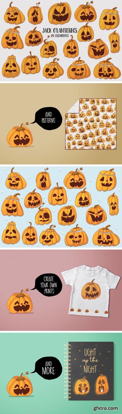 Designbundles - Jack O\'Lanterns 97175