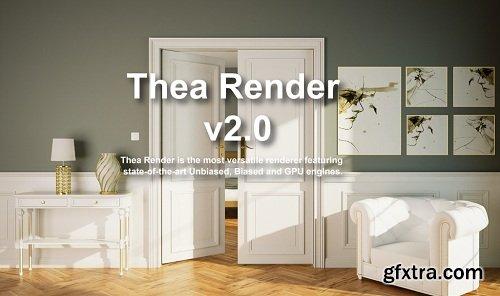 Thea Render v2.0 for SketchUp Pro