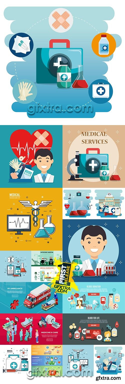 Medicine professional doctor and special equipment 10