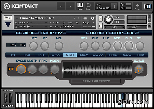 Codified Adaptive Launch Complex 2 KONTAKT-SYNTHiC4TE
