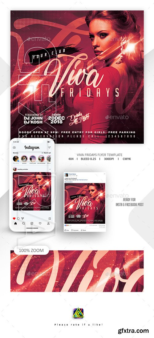 GraphicRiver - Night Club Flyer Template 22631529