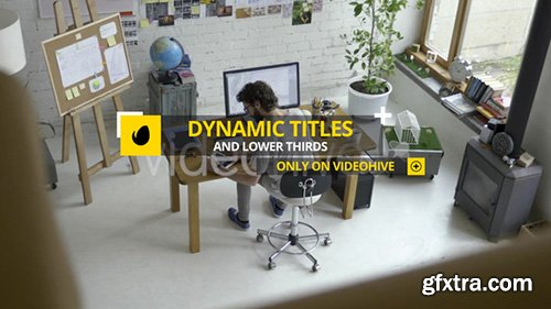 Videohive Dynamic Titles and Lower Thirds 22569572