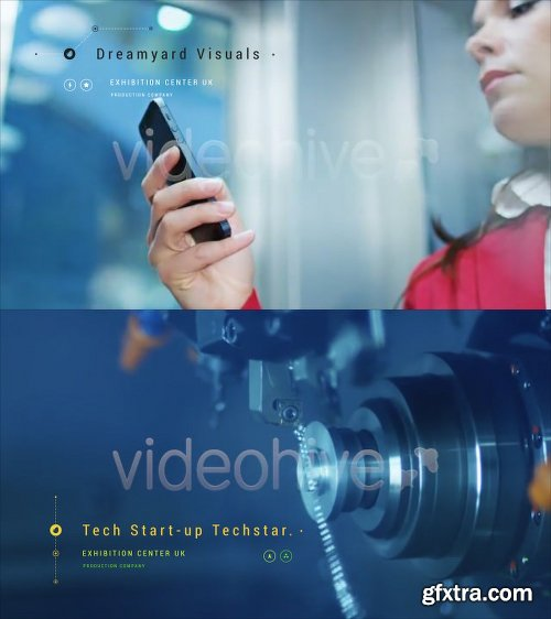 Videohive Hi-Tech Titles and Lower Thirds 21972869