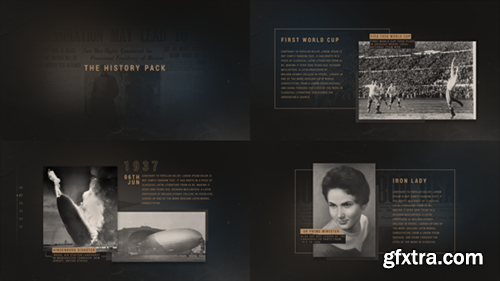 Videohive The History Pack 19028439