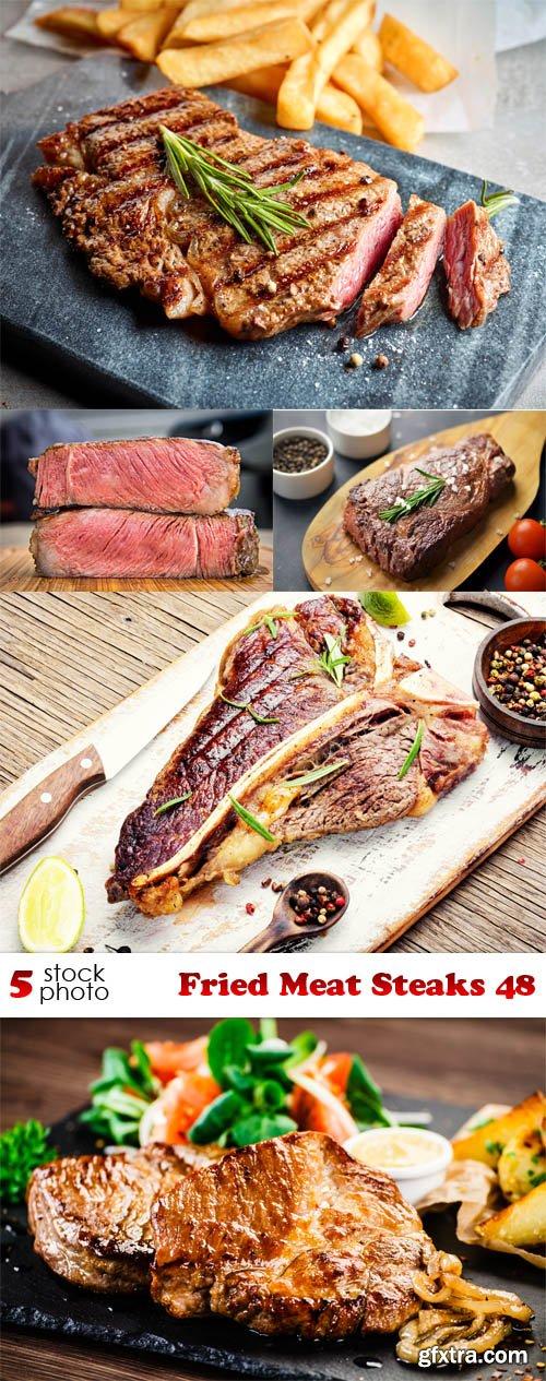 Photos - Fried Meat Steaks 48
