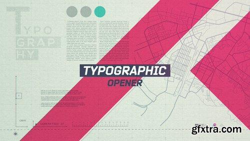 Videohive Typographic Opener 20593928