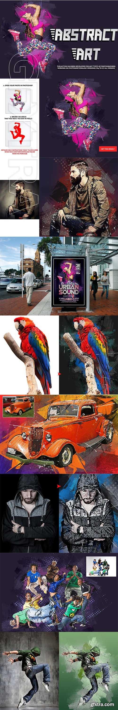 CreativeMarket - Abstract Art Photoshop Action 2776178