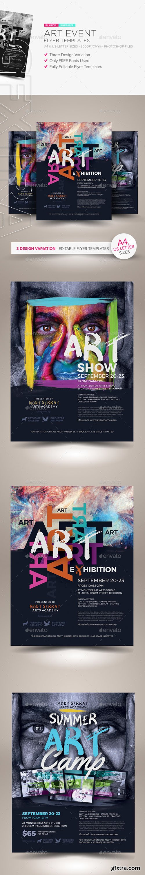 Art Event Flyer Template Topsimages