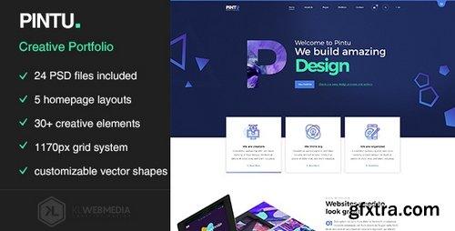 ThemeForest - Pintu - Portfolio HTML5 Template - 21990728
