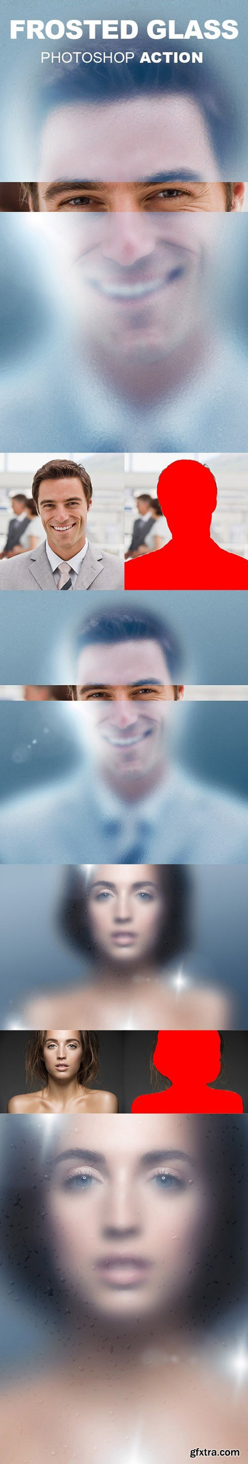 Graphicriver - Frosted Glass Photoshop Action 18344266
