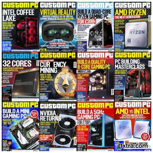 Custom PC - 2018 Full Year Issues Collection