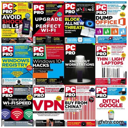 PC Pro - 2018 Full Year Issues Collection