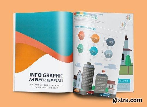 Real estate infographic Design