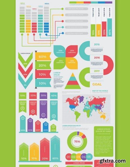 Big Set Infographics Elements Design