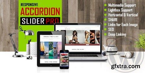 CodeCanyon - Accordion Slider PRO v1.0 - Responsive Image And Video WordPress Plugin - 22648844