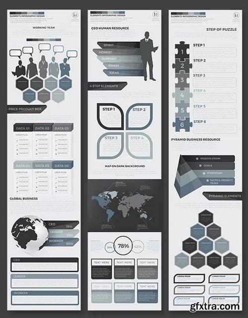 Black Pack Infographics Design