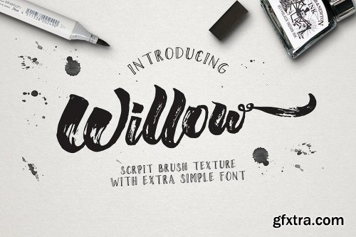CreativeMarket Willow Brush Texture 766664