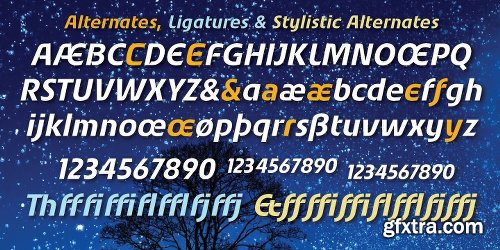 Starry Eyed Font Family - 2 Fonts