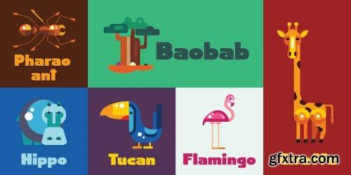 Baobab Font Family - 2 Fonts