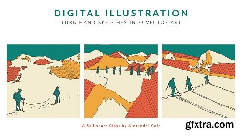 Digital Illustration: Turn Hand Sketches into Graphic Art