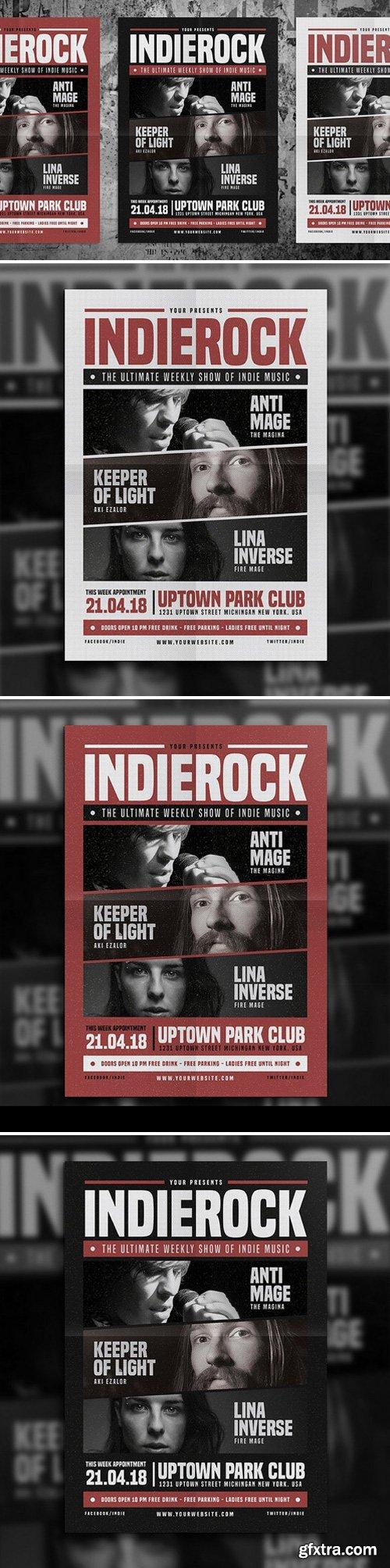 CM - Indie Rock Flyer Vol 03 652524