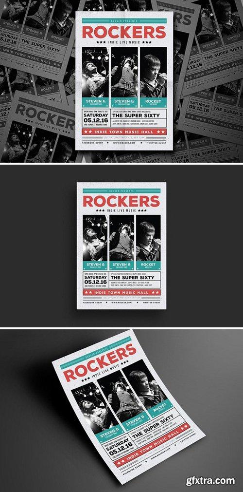 CM - Indie Rock Flyer 492477