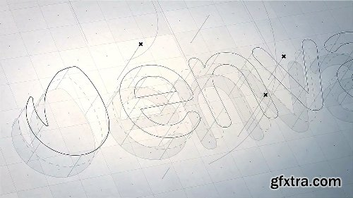 Videohive Structure - 3D Logo Reveal 11306526