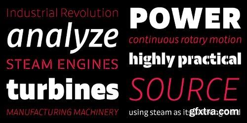 Calton Font Family - 24 Fonts
