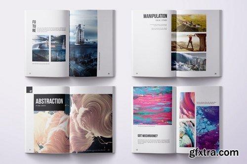 Minimal Portfolio - A4 & US Letter - 50 pages