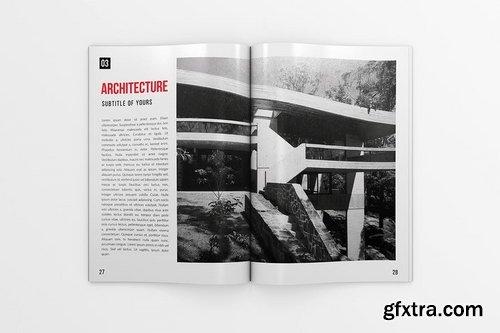 Multipurpose Portfolio - US Letter & A4 - 34 pgs