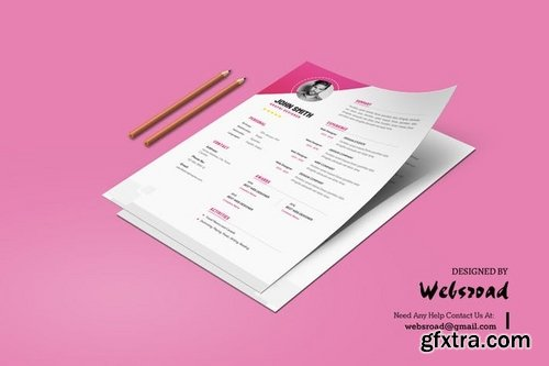 Creative Resume & CV Template