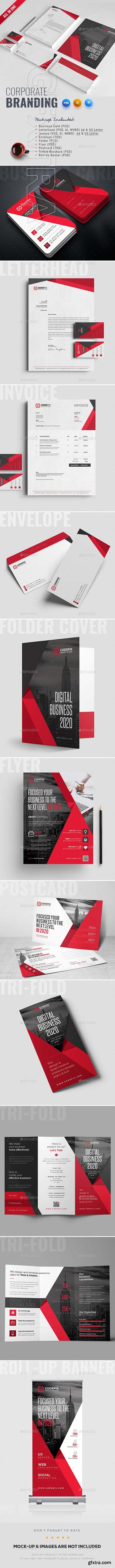 GraphicRiver - Corporate Identity 22659846