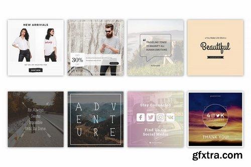 Instagram Media Banner Kit