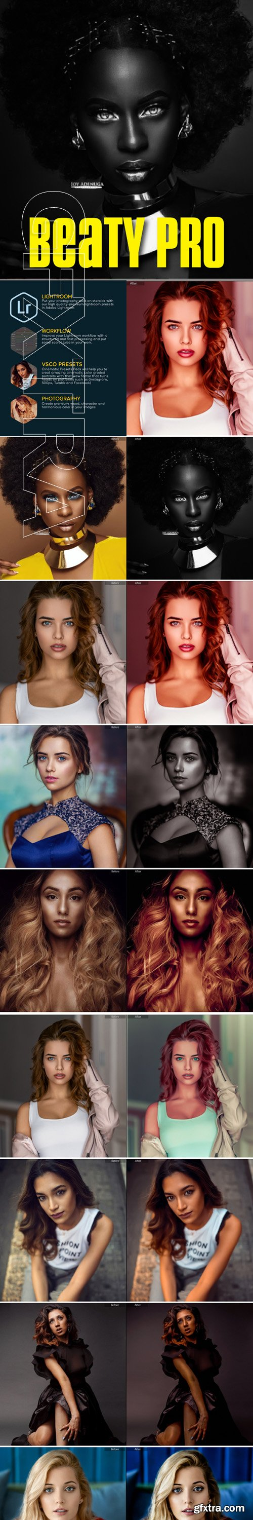 GraphicRiver - 18 Beauty Skin Retouch Lightroom Presets 22603116