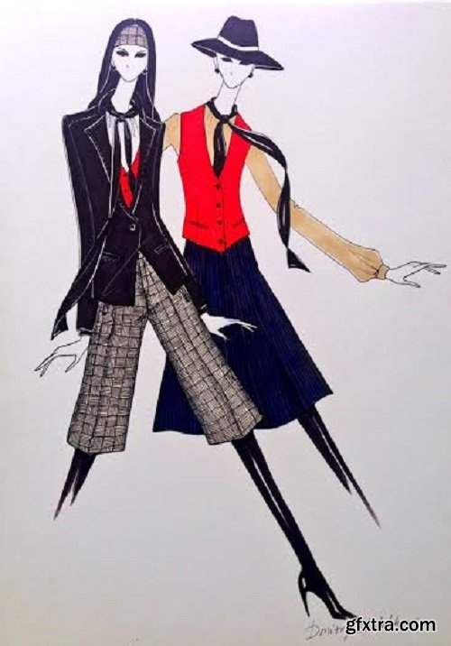 Inspired Fashion Design: Sketching Collections