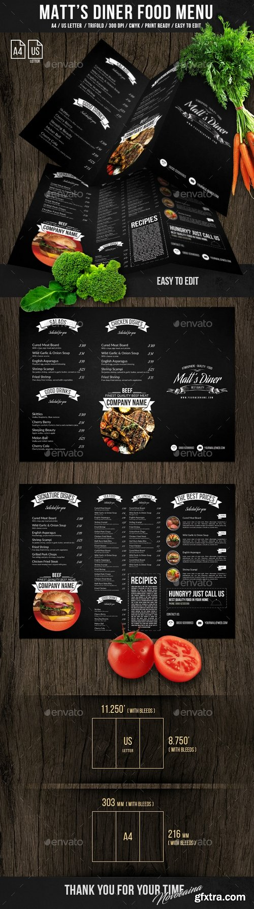 Graphicriver - Matt\'s Diner Trifold A4 and US Letter Menu 21245528