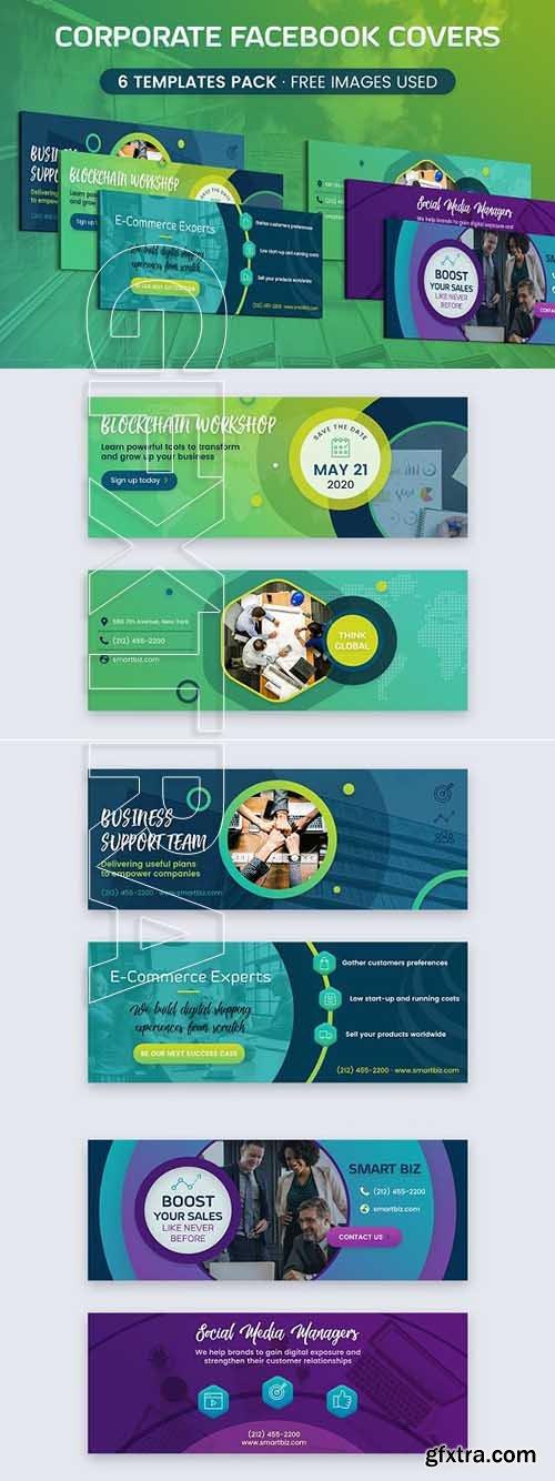 CreativeMarket - Corporate Facebook Cover 3012418