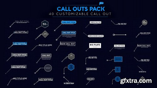 Callout Pack - After Effects 106384
