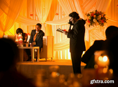 SLR Lounge - Indoor Scenes Reception - Directing Lighting Shot with Flash
