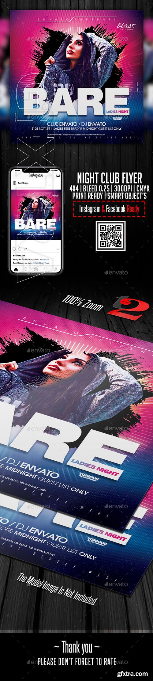 GraphicRiver - Night Club Flyer Template 22647780