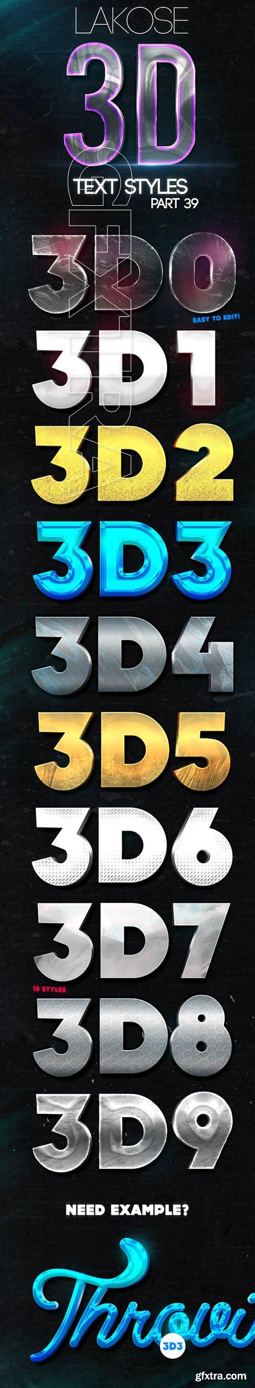 GraphicRiver - Lakose 3D Text Styles Part 39 22644984