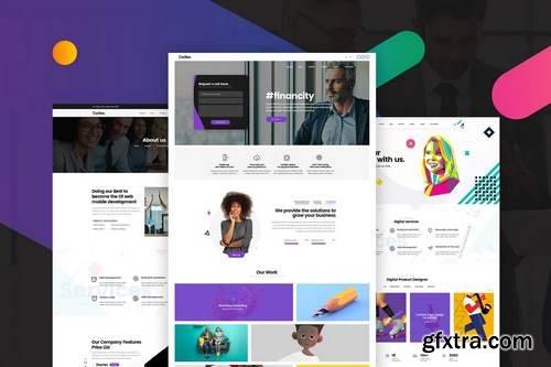 Multipurpose Business, Portfolio, Agencies Website