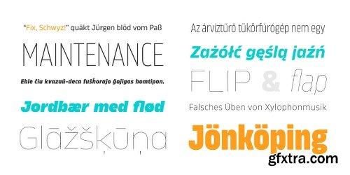 Karibu Font Family - 100 Fonts