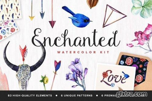3000 Artistic Vectors Watercolors Flower Decorations & More