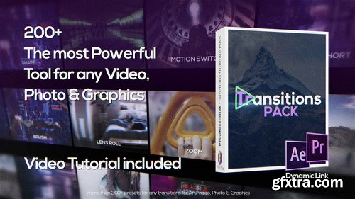 Videohive Transitions 22393194