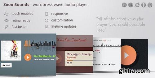 CodeCanyon - ZoomSounds v4.64 - WordPress Wave Audio Player with Playlist - 6181433