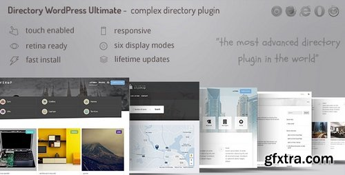 ThemeForest - Directory ultimate PRO WordPress v1.00 - Table, Grid, List Directory Submit and Listings - 21421742